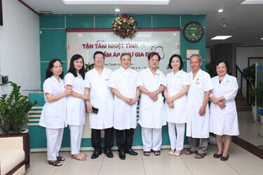 Đội ngũ y bác sĩ tại phòng khám Trần Duy Hưng